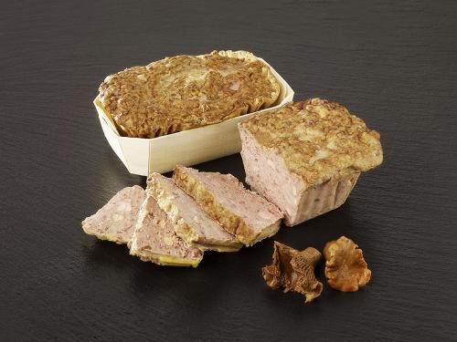 Petit Pâté au Foie de Canard et aux Girolles