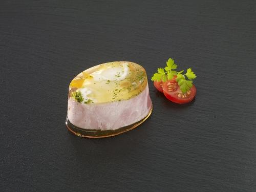 Œuf en gelé au jambon